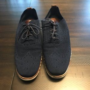 Cole Haan Grand OS Knit Athleisure Wingtips